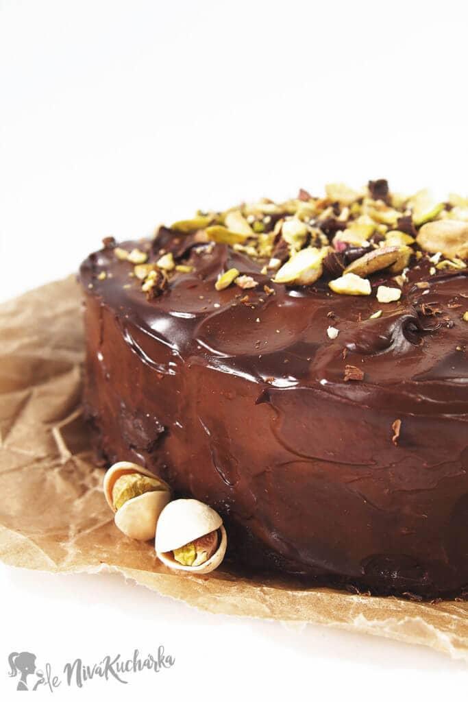 Bezlepková čokoládová torta