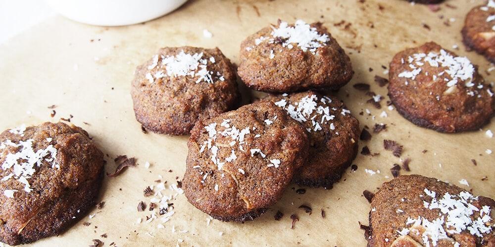Bezlepkové kokosové sušienky