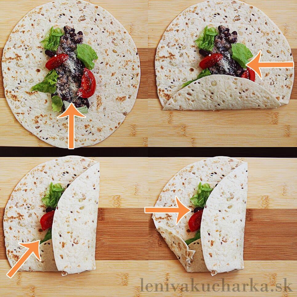 Ako zabaliť tortillu