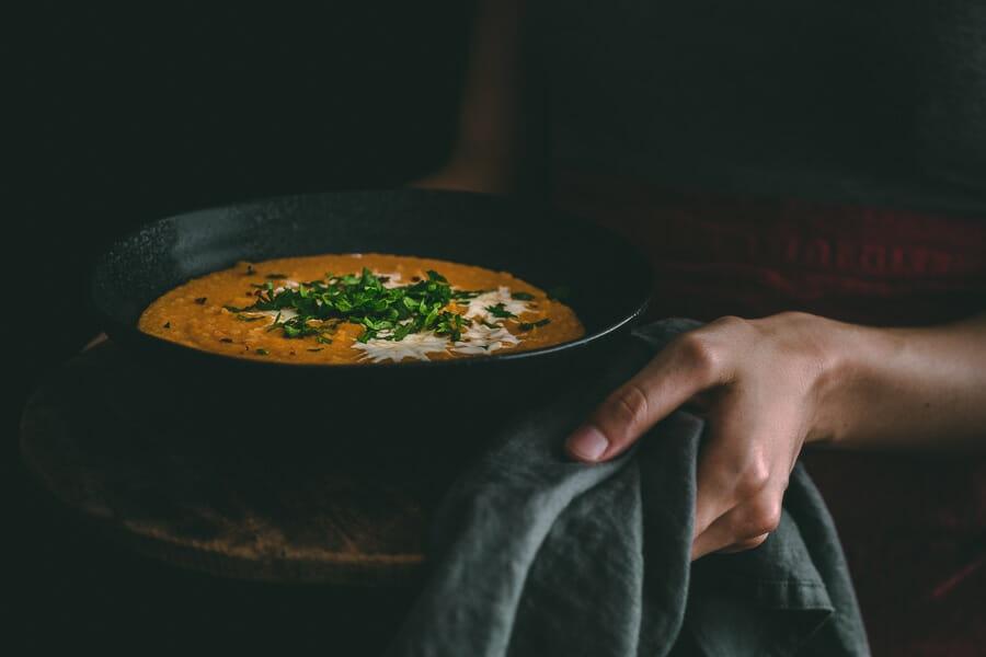 Šošoviová polievka