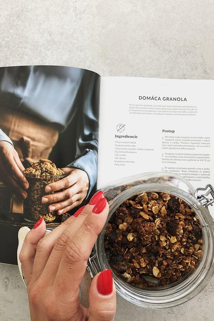 Domáca granola