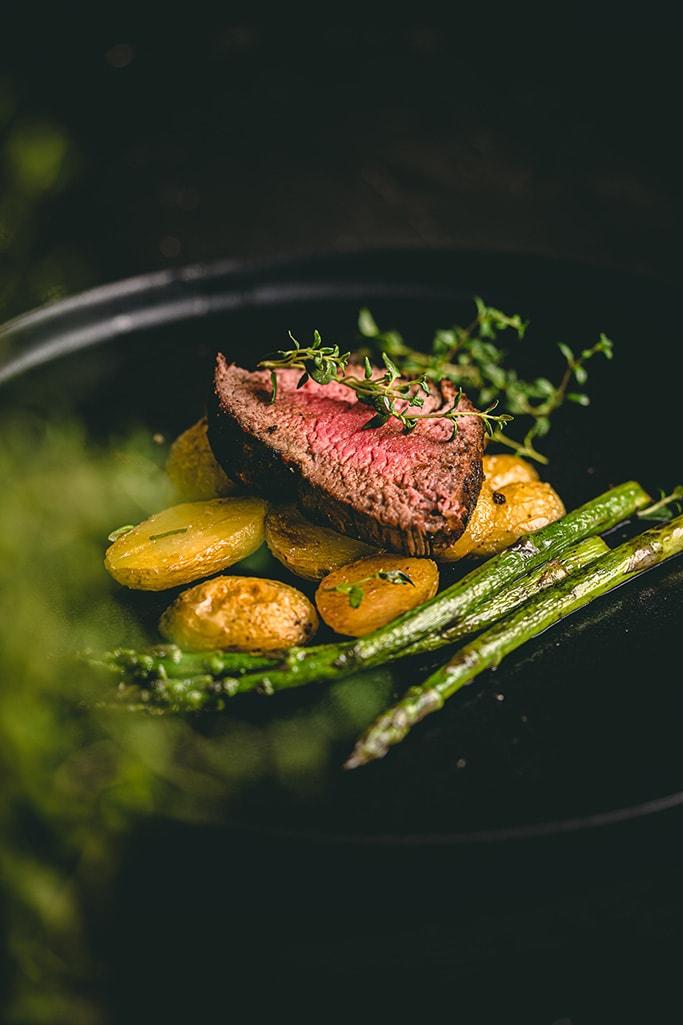 Šťavnatý hov§dzí steak