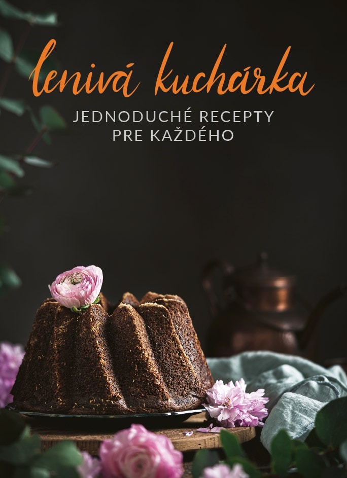 Kniha Lenivá Kuchárka