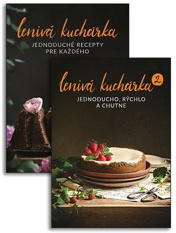 Knihy Lenivá kuchárka
